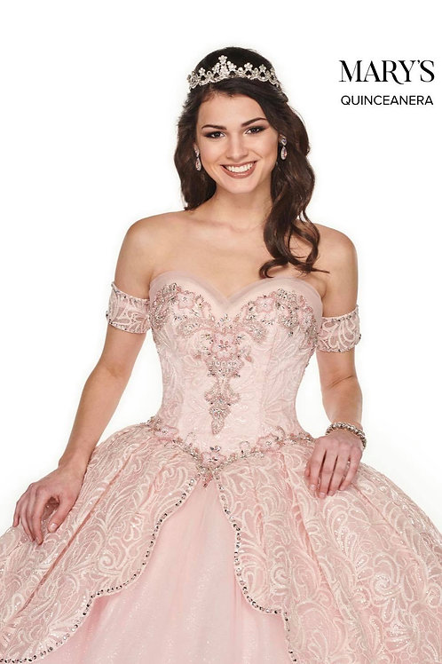 La Reina Quinceanera Dresses In Baby Blue Or Blush Color