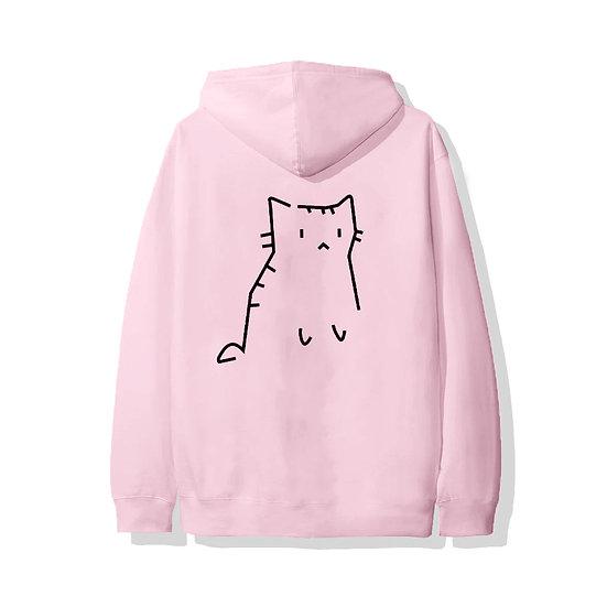 CAT HOODIE PINK
