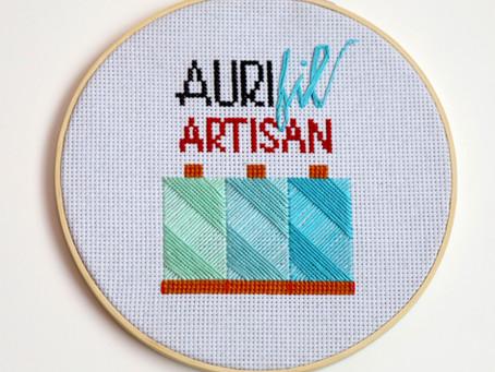 Aurifil Artisan Challenge August