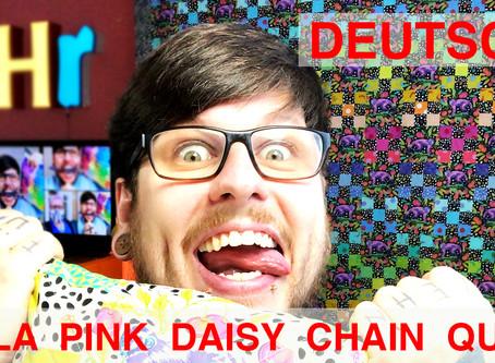 Tula Pink Daisy Chain Quilt Tutorial (deutsch)