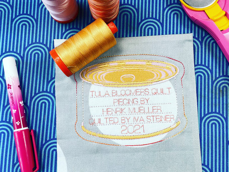 2 years in the making (Aurifil Challenge June)