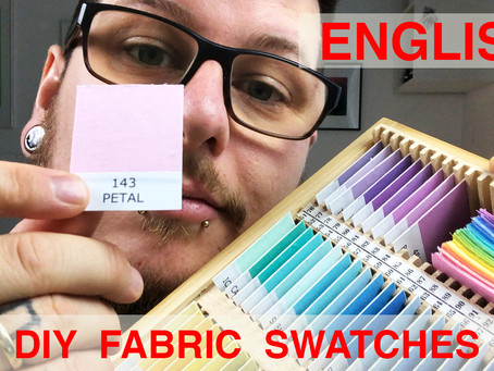 New English Video - DIY Fabric Swatches