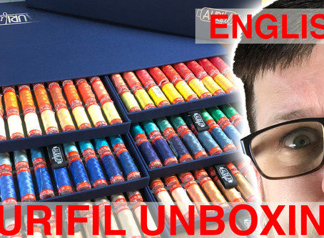 New English Video - Aurifil Unboxing