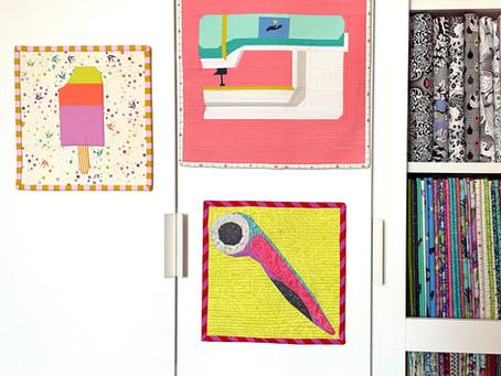 Foundation Paper Piecing - Aurifil Artisan Challenge August