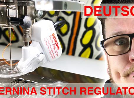 Neues Video - Bernina Stich Regulator