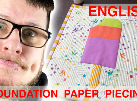 Foundation Paper Piecing Tutorial (english)