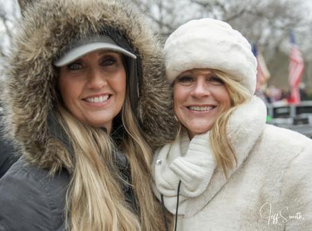 Felisa and Anne Vandersteele at Freedom