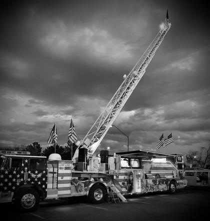 Trump Fire Truck