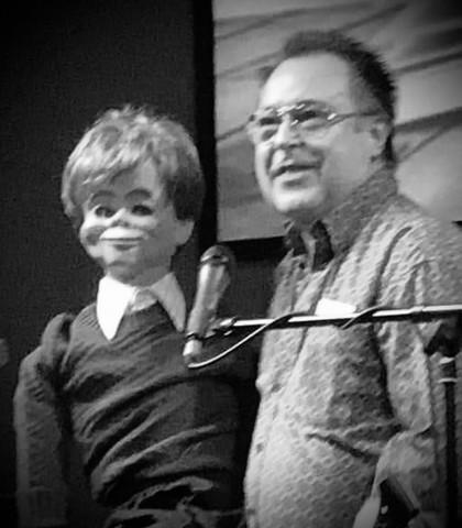 Ventriloquist Terry Carlson