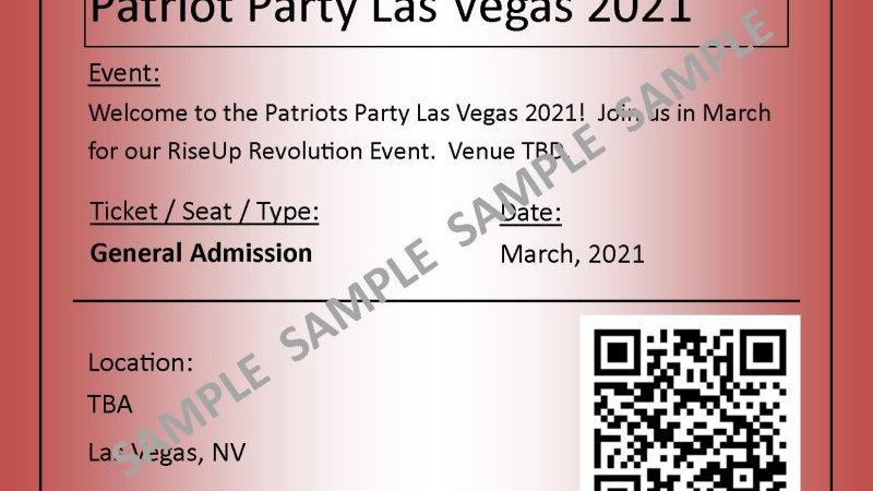 Las Vegas-2021 General Admission