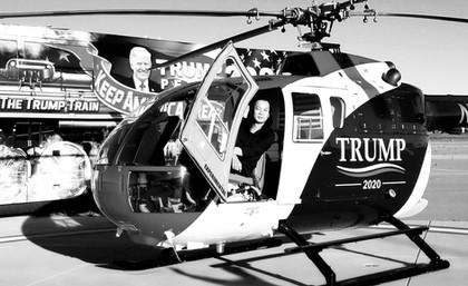 Trump Helicoper