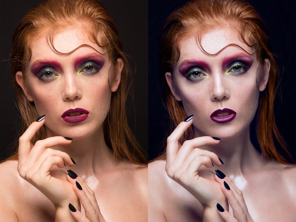 PHOTOGRAPHER: WILLIAM CLARK MUA: GRACE COOLE-GREEN HAIR: STEPHEN MANTON MODEL: JESSICA ASHLEY