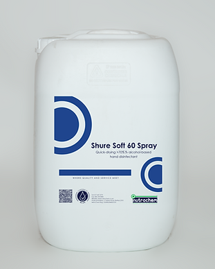 Shure Soft 60 Spray Nutrochem product