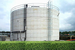 round Filtration system