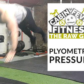 Cabin Fever Fitness - Plyometric pressups at The Raw Gym Ballymena