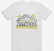 Cabin Fever Fitness T-Shirt for home workouts