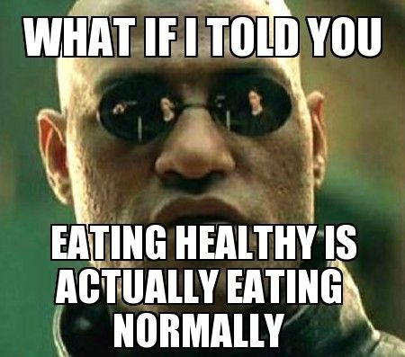 The diet industry is a massive con, eat normal, eat healthy