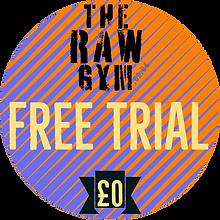 free trial at the raw gym ballymena