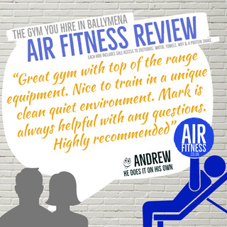 Air Fitness review by Andrew
