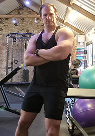 mark mcintyre personal trainer the raw gym ballymena
