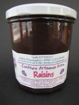 Confiture de raisin 250g