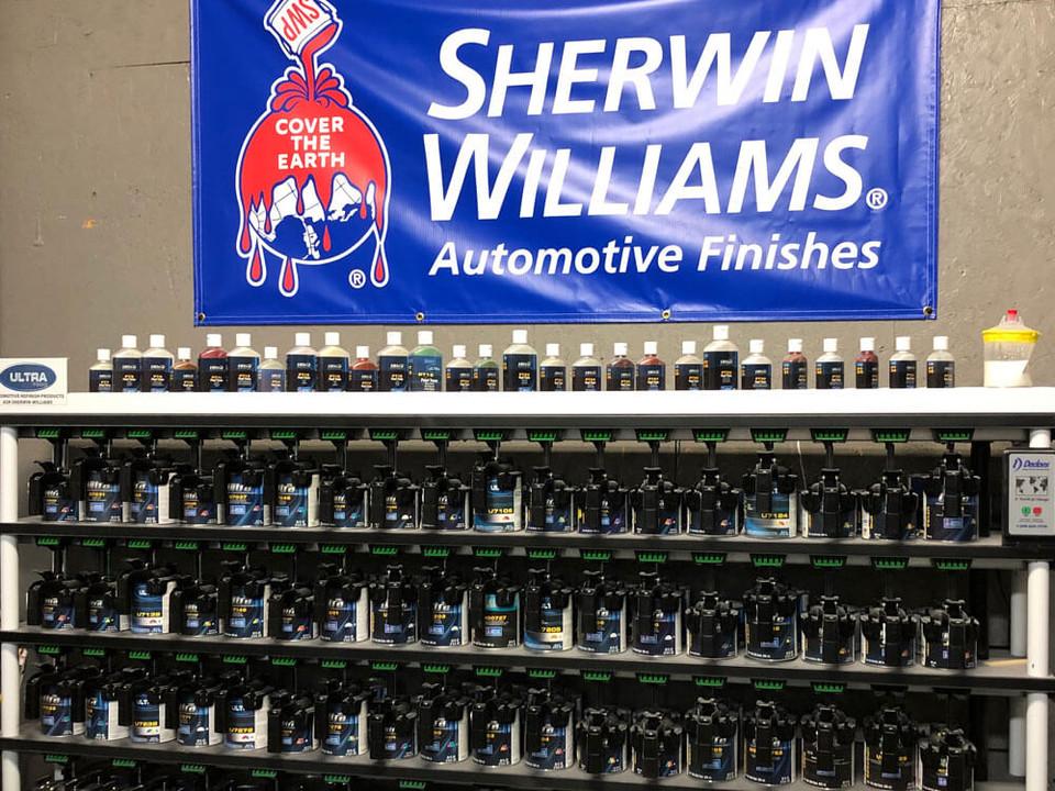 Sherwin Williams Automotive Paint