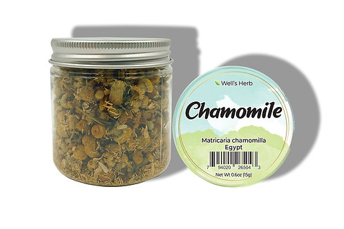 WH02_Well's Herb Chamomile Net 0.8oz