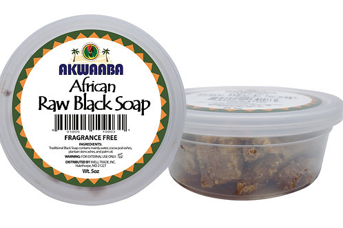 AK02_African Raw Black Soap 5oz