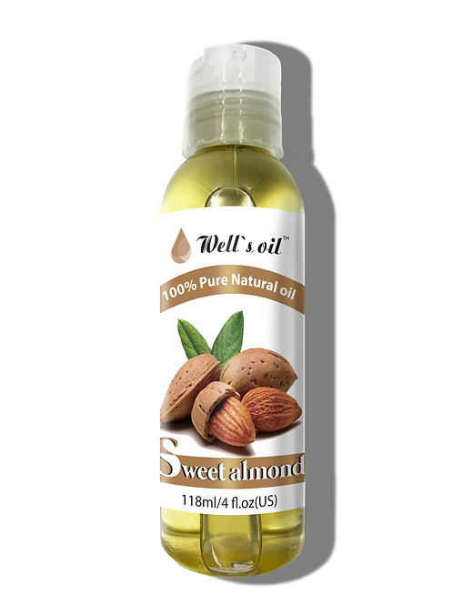 NO404_100% Pure Sweet Almond Oil 4oz