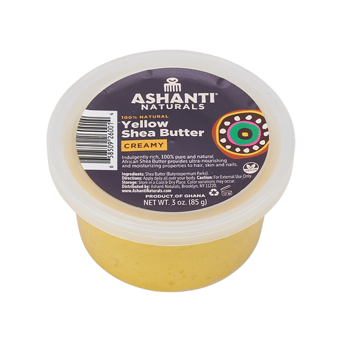 AN905_100% Shea Butter Yellow Soft/Creamy 3oz(24/cs)
