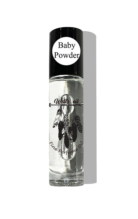 Well's Roll-On Body Oil (Baby Powder)
