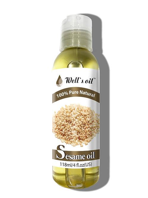 NO410_100% Sesame Oil 4oz