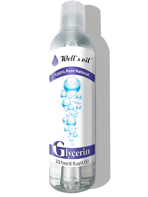 Well's Glycerin Oil 8oz