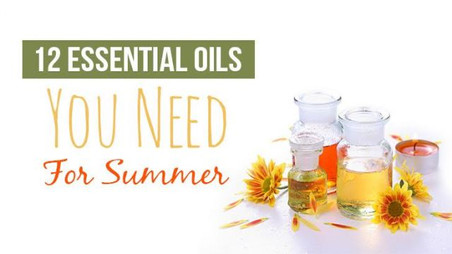 12 Essential Oils You Need For Summer