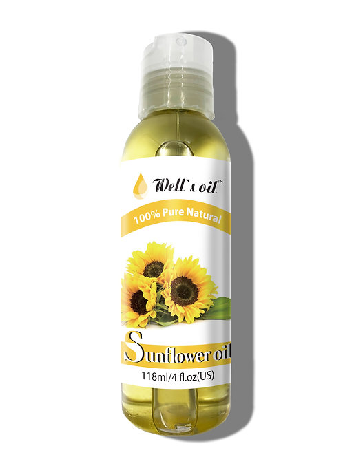 Well's Sunflower Oil 4oz