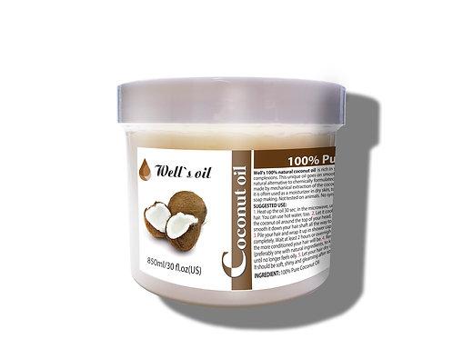 NO406L_100% Pure Coconut Oil 30oz