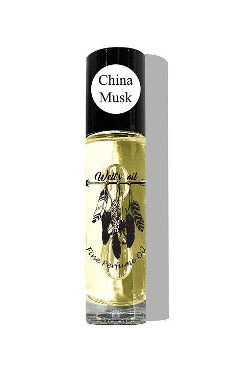 Well's Roll-On Body Oil (China Musk)