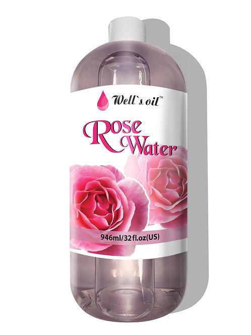 WW01L_Rose Water 32oz