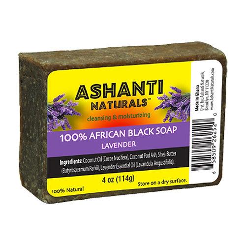 AN902-African Black Soap Lavender 4oz