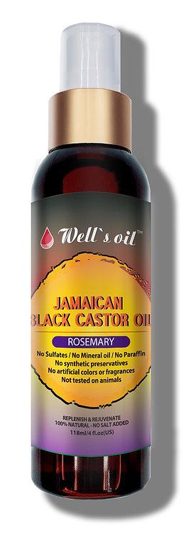 Jamaican Black Castor Rosemary Spray