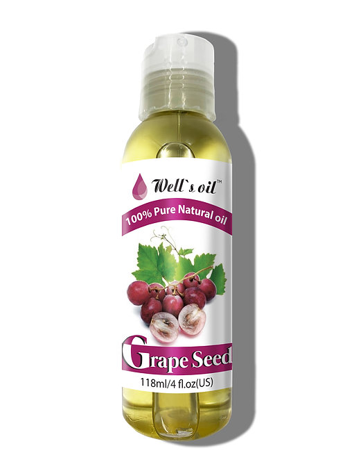NO403_100% Pure Grape Seed Oil 4oz