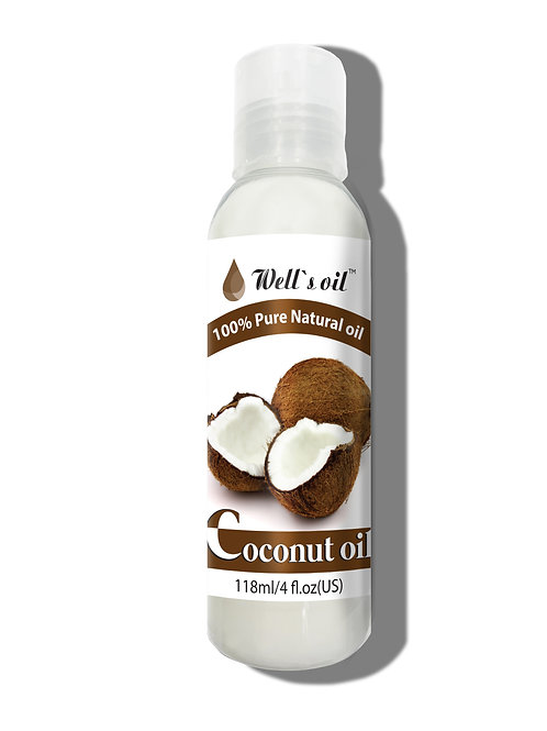 NO406_100% Pure Coconut Oil 4oz