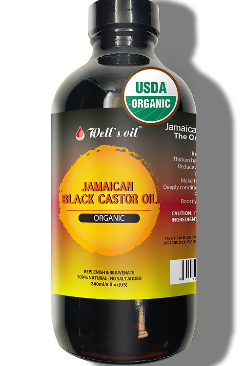 WB02_Jamaican Black Castor Oil 8oz