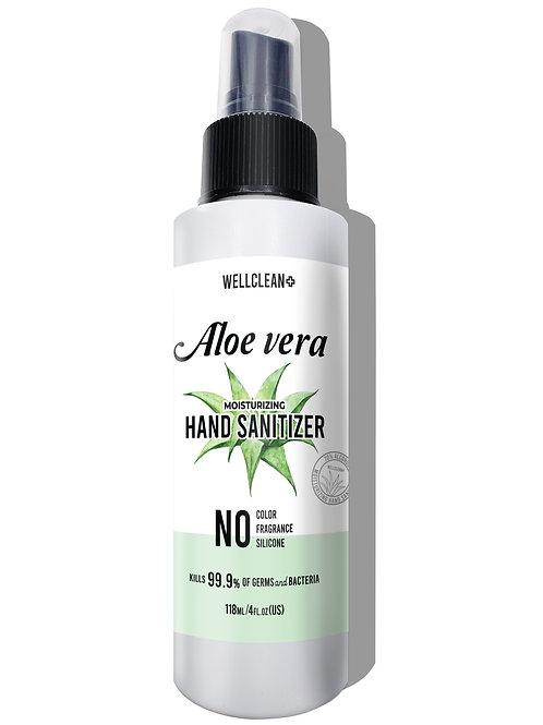 WC01_WELLCLEAN+ Aloe Vera Hand Sanitizer 4oz