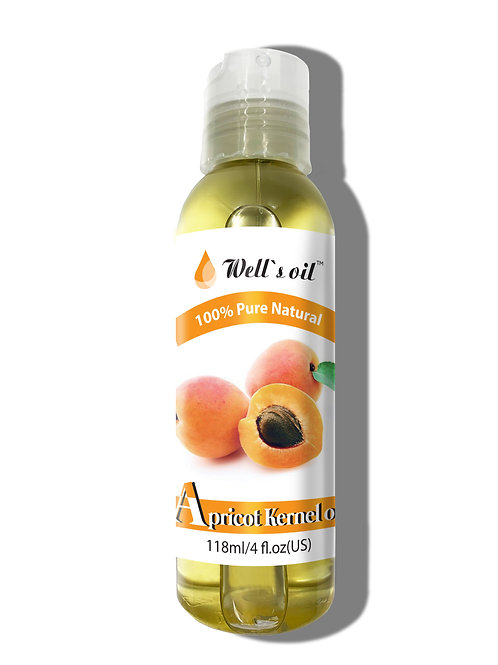 NO411_100% Apricot Kernel Oil 4oz