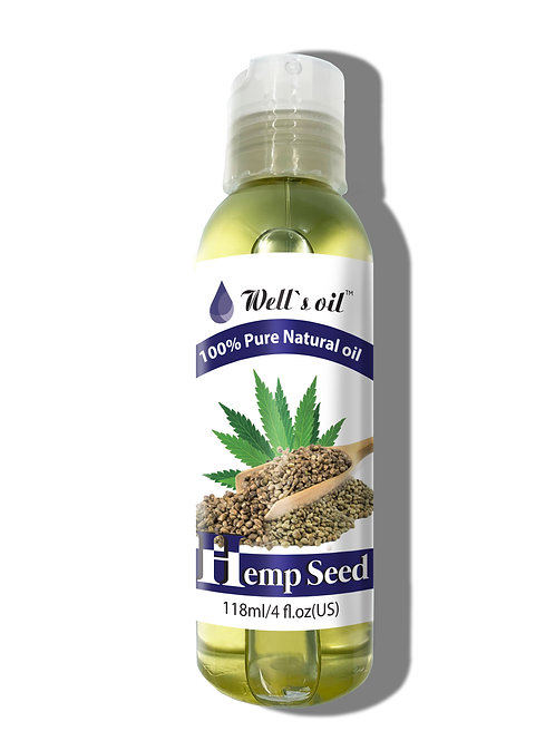 NO407_100% Pure Hemp Seed Oil 4oz