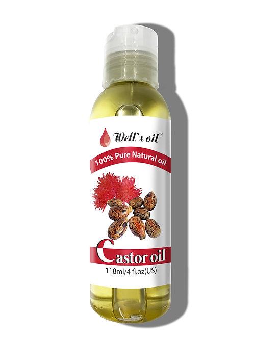NO401_100% Pure Castor Oil 4oz