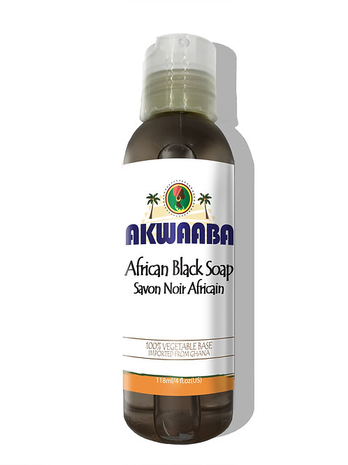 AK03_African Black Soap Liquid 4oz