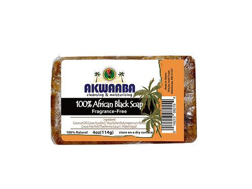 AK05_African Black Soap (fragrance free) 4oz