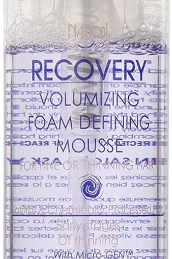 N429_Recovery Voluming Foam Defining Mousse 8oz